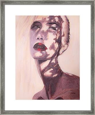 Framed Print featuring the painting Here Comes The Sun  by Jarko Aka Lui Grande