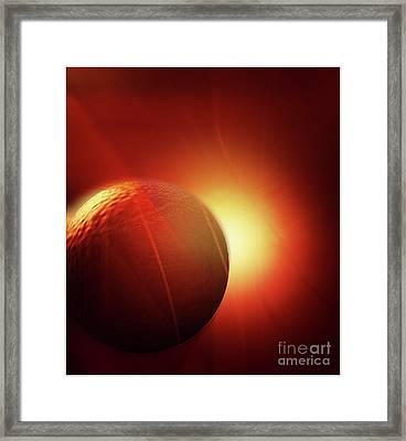 Here Comes The Sun Framed Print