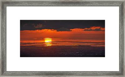 Here Comes The Sun Framed Print by Peter Thoeny