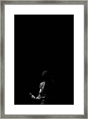 Framed Print featuring the photograph Here by Eric Christopher Jackson