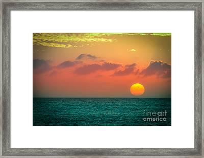 Here Goes The Sun 1 Framed Print