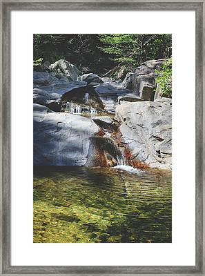 Here I Soak You In Framed Print by Laurie Search
