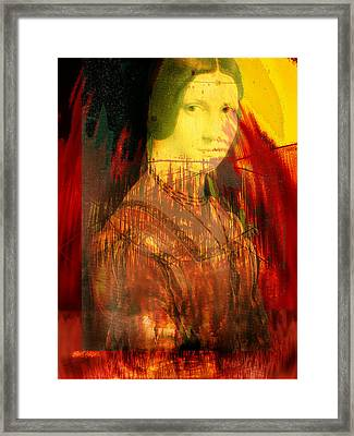 Here Is Paint In Your Eye Framed Print by Seth Weaver