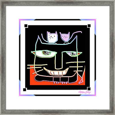 Here,  Kitty Kitty Framed Print