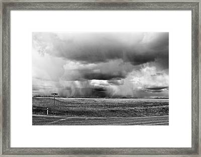 Here They Come Framed Print
