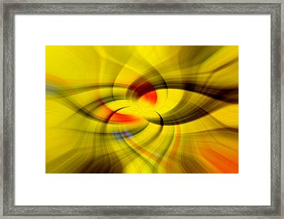 Here We Go Framed Print by Esther Tinz