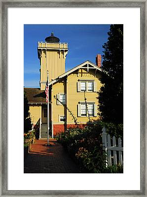 Hereford Lighthouse, Wildwood New Jersey Framed Print by James Kirkikis