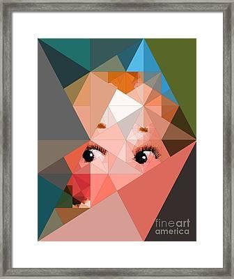 Here's Lookin At You Framed Print by Deborah Selib-Haig DMacq