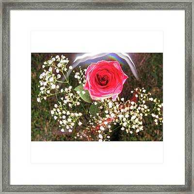 Here's Some Love To Moms!  Happy Framed Print