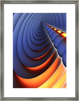 Heres The Point Framed Print by Lyle Hatch