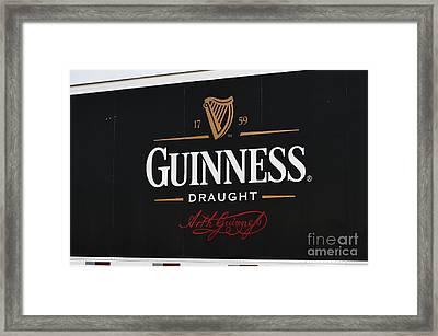 Here's To Irish Friends Framed Print by David Bearden
