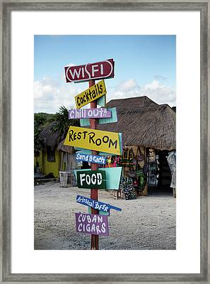 Here's What's Here 1 Framed Print