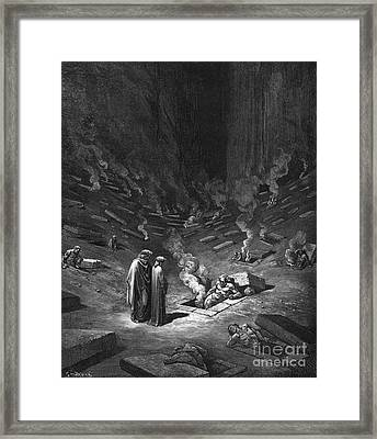 Heresiarchs Framed Print by Gustave Dore