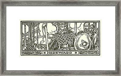 Hereward The Wake  Framed Print