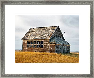 Framed Print featuring the photograph Heritage by Blair Wainman
