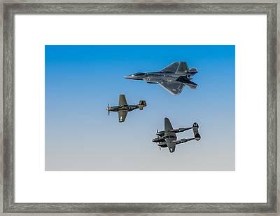 Heritage Flight Framed Print by Mark Goodman
