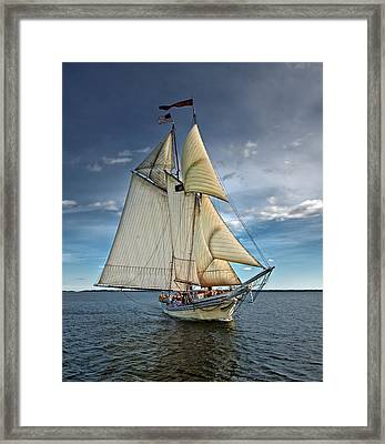 Heritage Framed Print by Fred LeBlanc