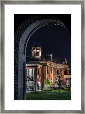 Heritage Hall - Western Michigan University Framed Print