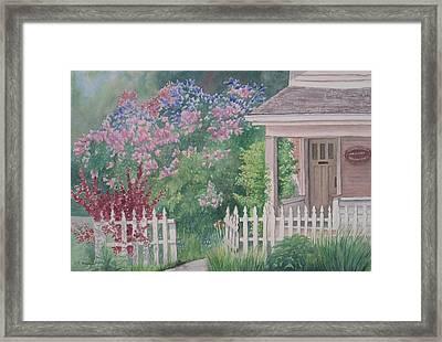 Heritage House Framed Print by Debbie Homewood