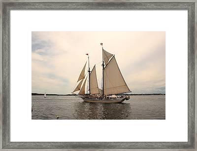 Heritage In Penobscot Bay Framed Print