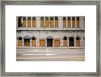 Heritage Street Framed Print