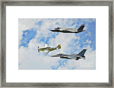 Heritage To Horizons Framed Print
