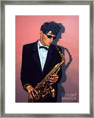 Herman Brood Framed Print by Paul Meijering