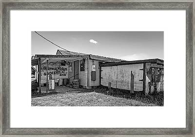 Herman Had It All 3 Bw Framed Print by Steve Harrington