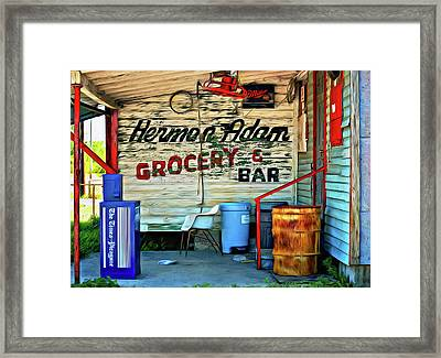 Herman Had It All - Paint Framed Print by Steve Harrington