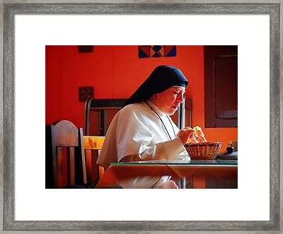 Hermana Framed Print by Skip Hunt