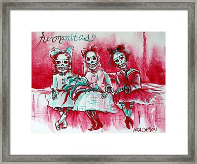 Hermanitas Framed Print