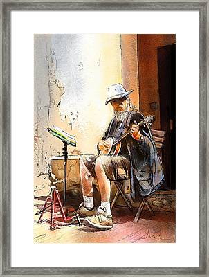 Hermann The German Framed Print by Miki De Goodaboom
