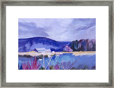 Herman's Place Framed Print by Betty Pieper