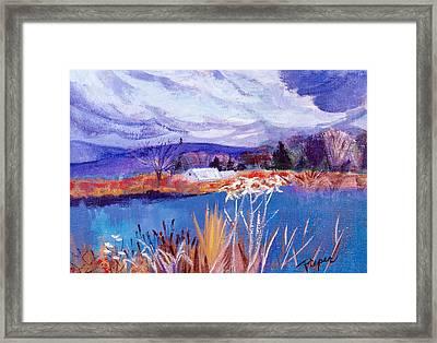 Herman's Pond Framed Print by Betty Pieper