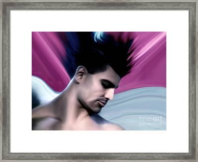 Hermes Framed Print by Art Graeco