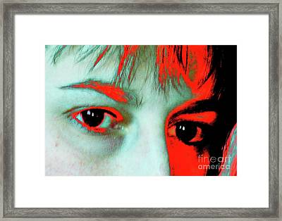 Framed Print featuring the photograph Hermine Unanswered by Jesse Ciazza