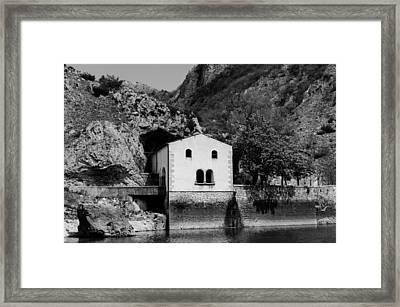 Hermitage Of San Domenico - Italy  Framed Print