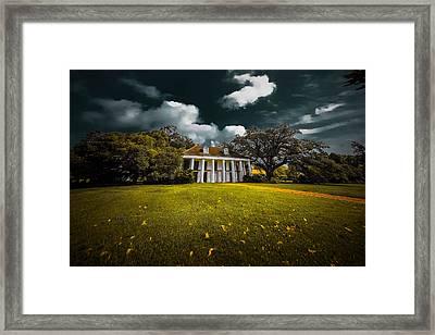 Hermitage Plantation Framed Print