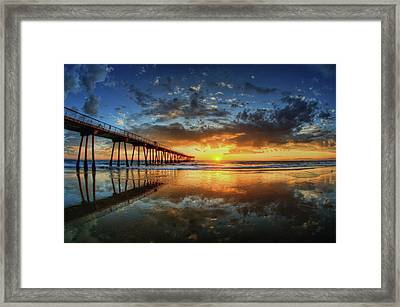 Hermosa Beach Framed Print