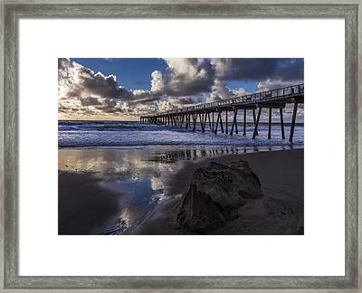 Hermosa Beach Pier Framed Print