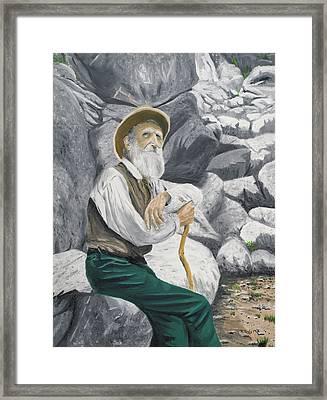 Hero Of The Land Framed Print