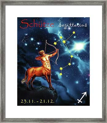Hero Of The Stars Framed Print