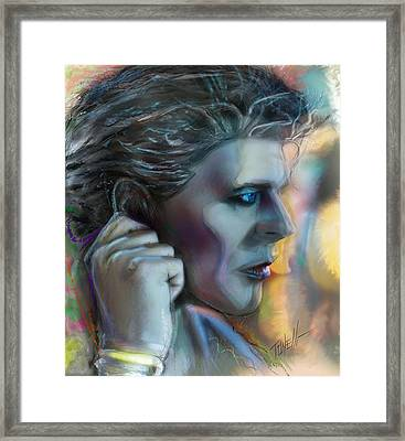 Bowie Heroes, David Bowie Framed Print by Mark Tonelli