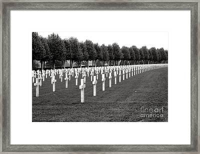 Heroes Of Belleau Woods  Framed Print