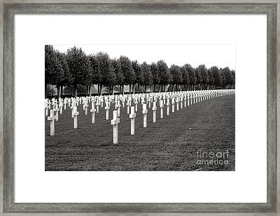 Heroes Of Belleau Woods  Framed Print by Olivier Le Queinec