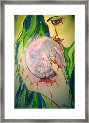 Heroin Framed Print by Tbone Oliver