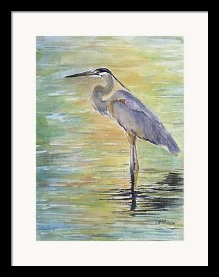 Malibu Lagoon Framed Prints