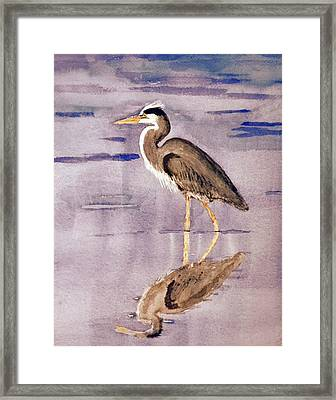 Heron No. 2 Framed Print