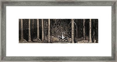 Herr Fabian Framed Print by John Bauer