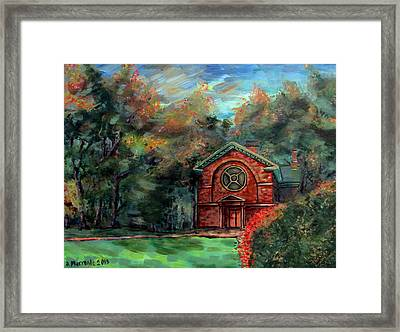 Herring Cole In Early September Framed Print